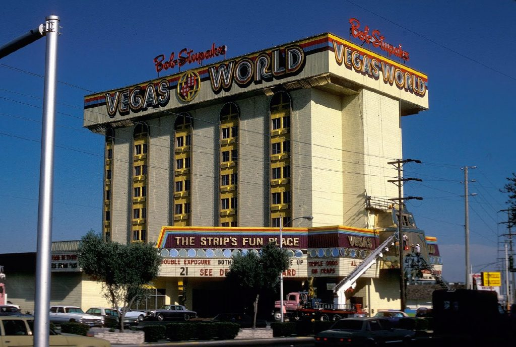 Vegas  World was a space-theme casino and hotel where The STRAT now sits.