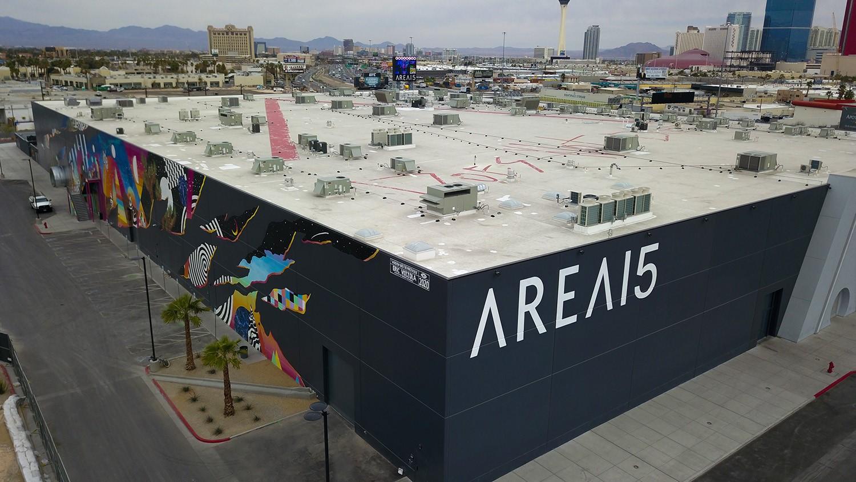 Area 15 Meow Wolf LMS Building Systems Las Vegas